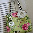 Funky Floral Tote