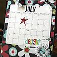 Flowerful Calendar