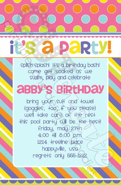 Happy girl invitation_sm