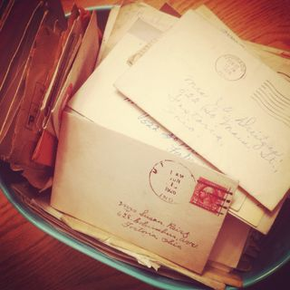 Janna Wilson: Writing in 2012, vintage letters, and kickin' it old ...