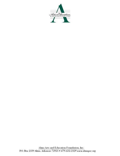 graphic design portfolio logo alma arts education foundation