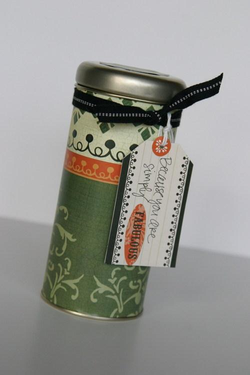Tea container--Fabulous