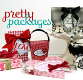 Pretty packages - a cut&create downloadable pattern kit